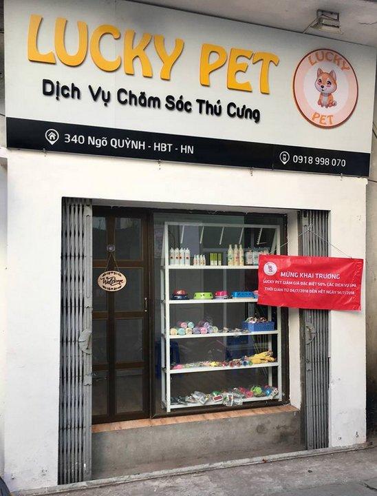 Cửa hàng của học viên - Lucky Pet