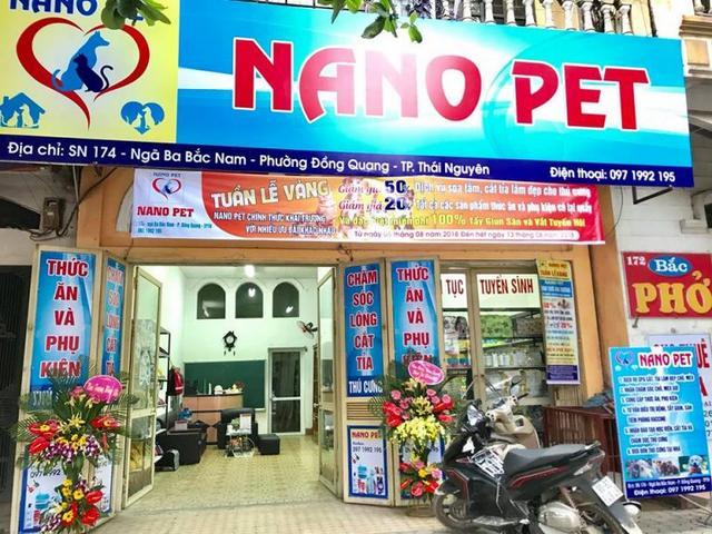 Cửa hàng của học viên - Nano Pet