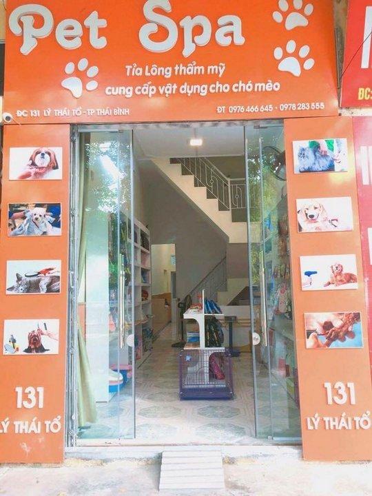 Cửa hàng của học viên - Pet Spa